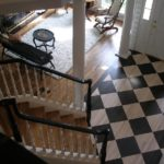 Checker Board and stairs